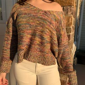 Forever21 colorful knitted sweater